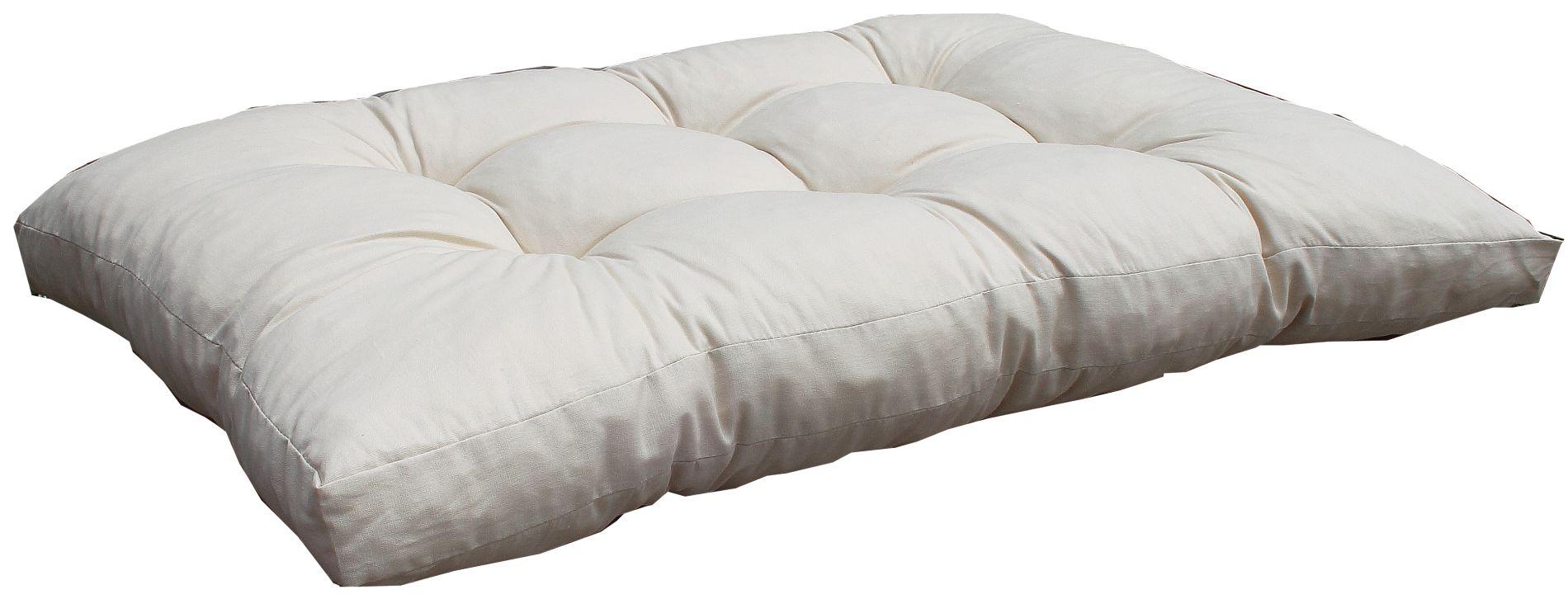 AUB01 Lounge-Kissen 120x80 HP Sitzkissen h.beige