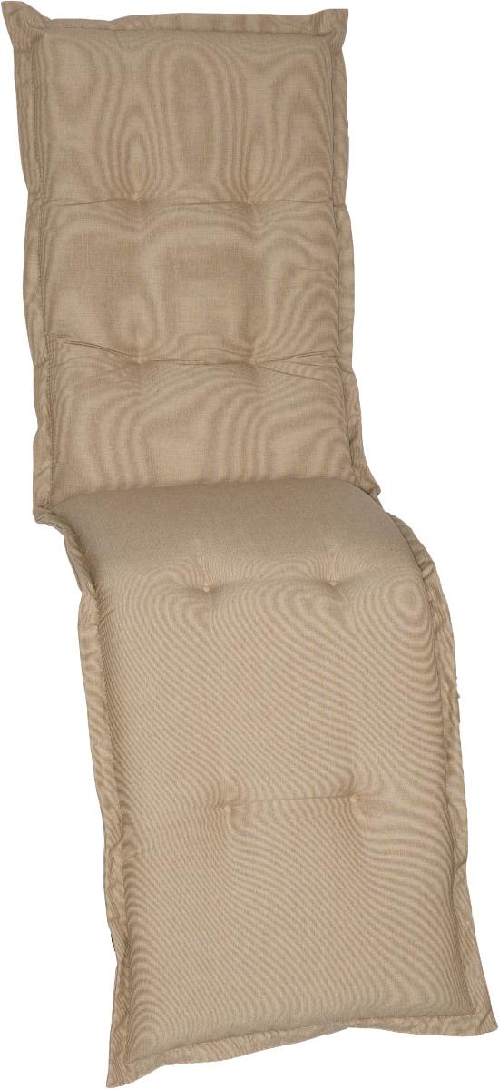 beo Gartenmöbel Auflage für Relaxstühle Dralon Bezug sand DU54