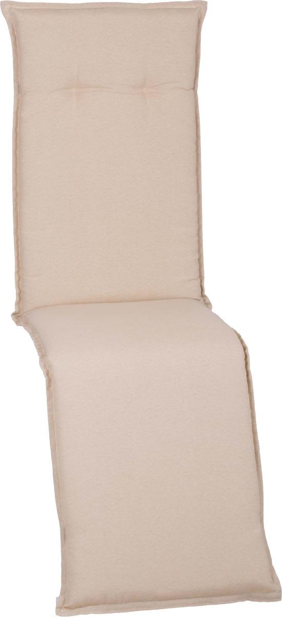 beo Gartenmöbel Auflage hellbeige wasserabweisend für Relaxstühle AUB01