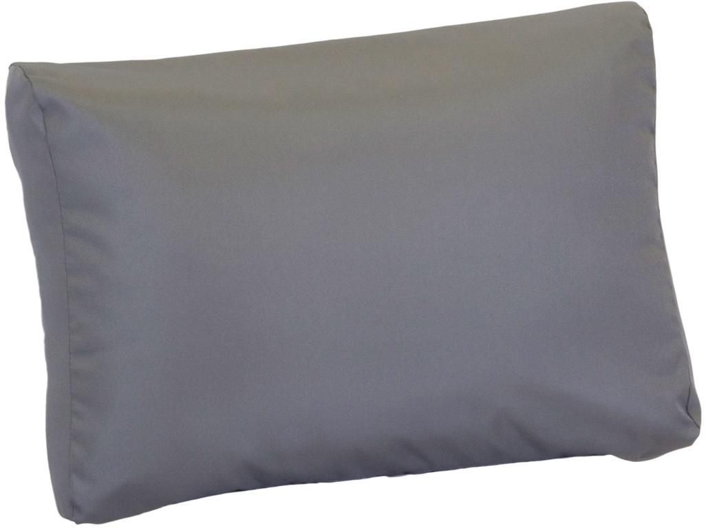 Anthrazite Lounge Rückenkissen Premium ca. 80 x 40 cm wasserabweisend aus 100% Polyester