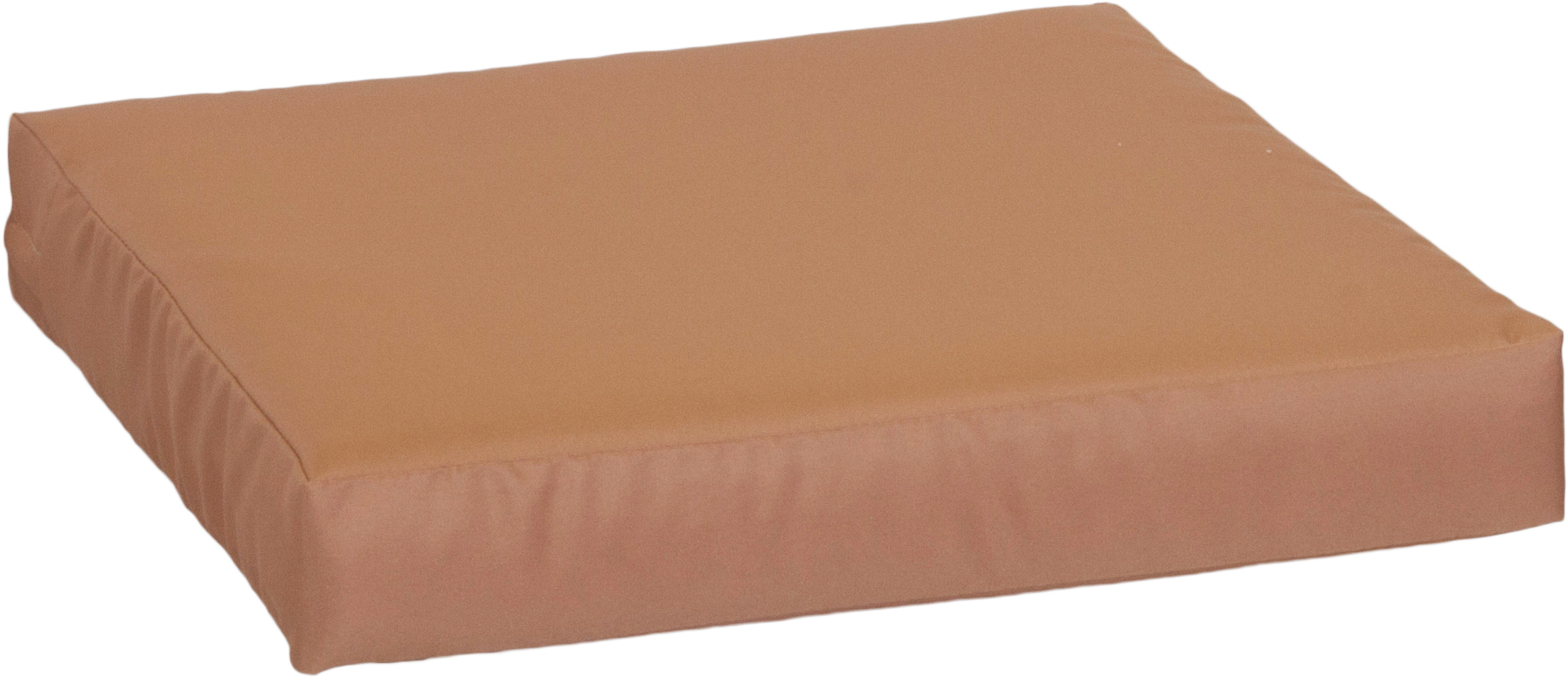 Auflage Sitzkissen für Palettensofas ca. 80 x 80 cm aus wasserabweisendem 100% Polyester in sand