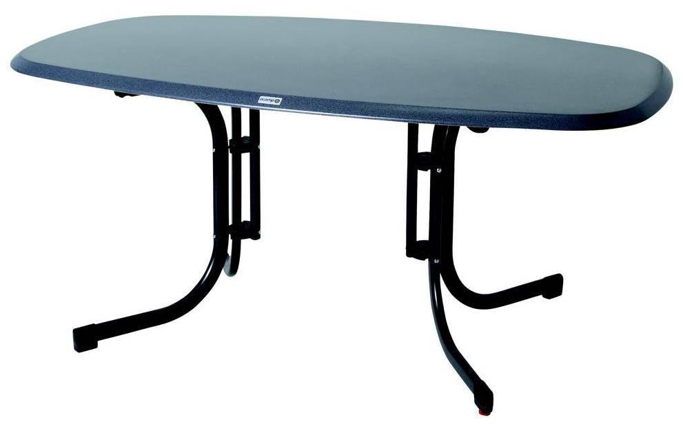 3-er Klemmrasterset Zentralhalter für Mittelstange Tisch Piazza Acamp anthrazit