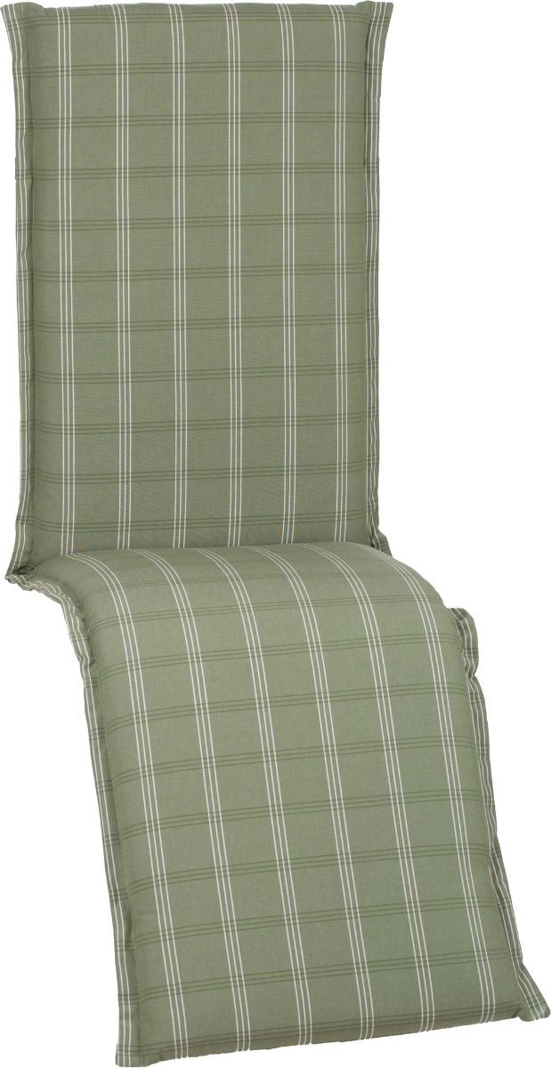 beo Gartenmöbel Auflage für Relaxstuhlkissen edel abgestimmte Grüntöne D614