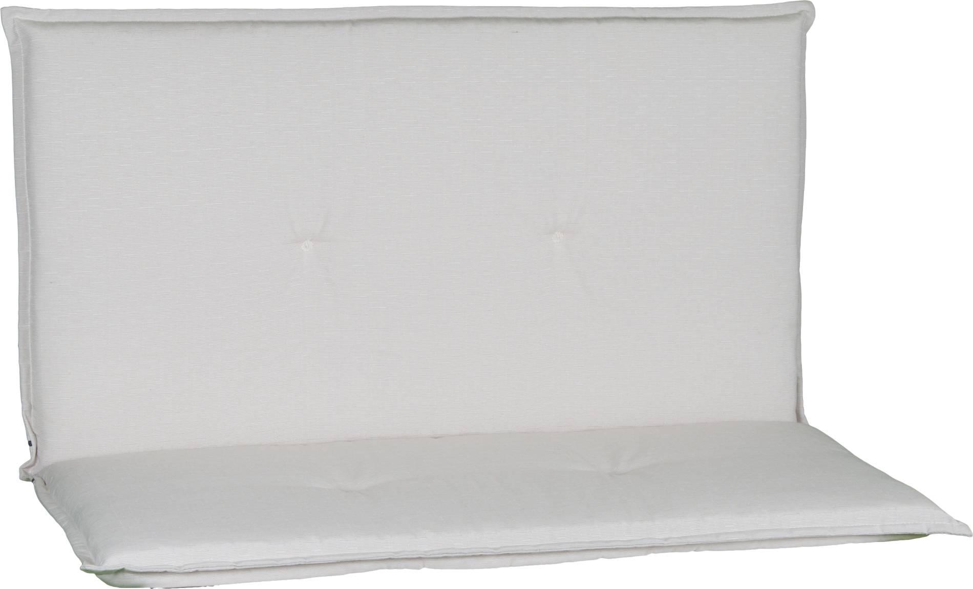acamp 2-er Bankkissen beige Typ-O 97 x 99 x 4 cm passend für Stapelbank Stratos