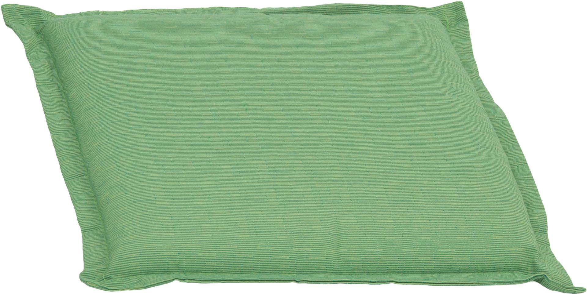 Bankauflage Sitzkissen ca. 49x46x6 cm hellgrün meliert