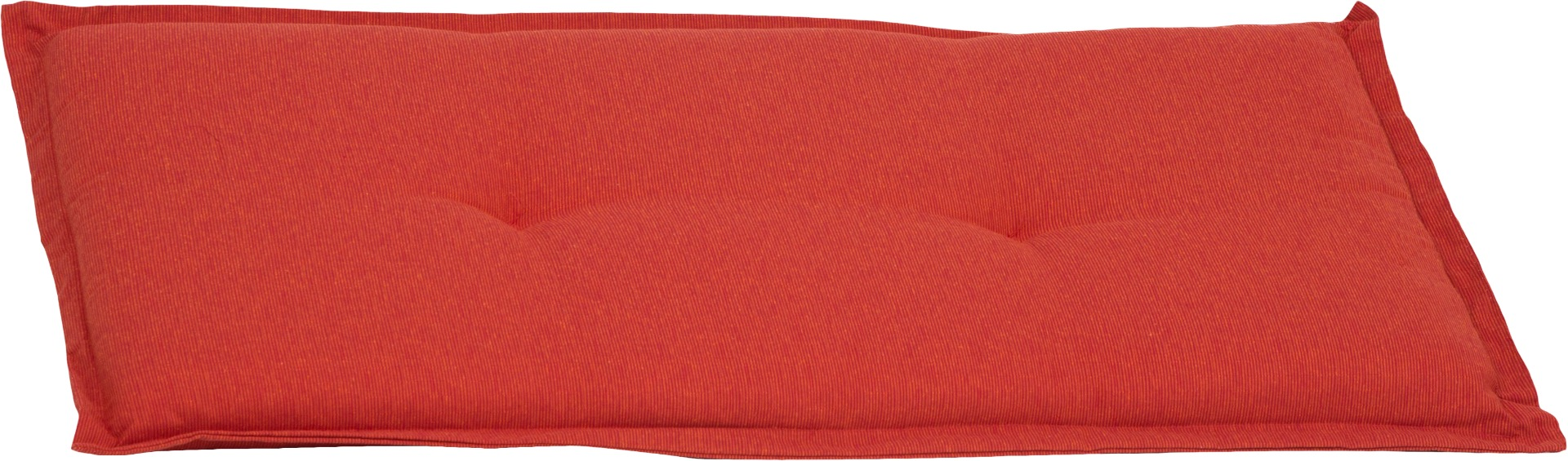 Bankauflage 2-Sitzer Sitzkissen ca. 100x45x6 cm orange meliert