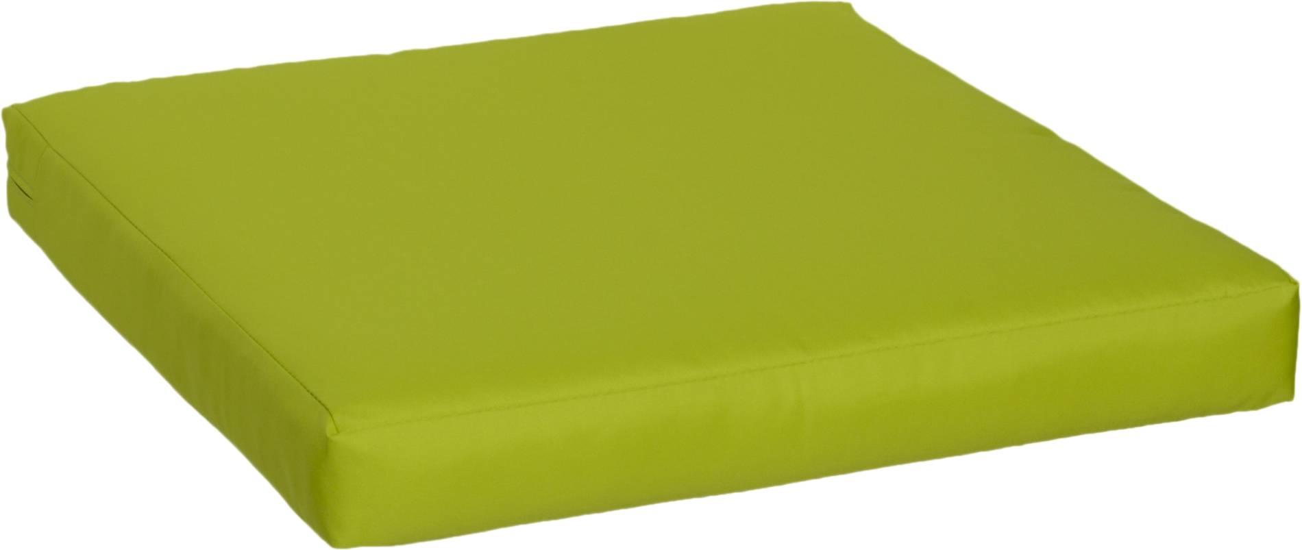 Kissen Loungegruppen in hellgrün ca. 60 x 60 cm hochwertige Polsterauflagen 100% Polyester wasserabweisend