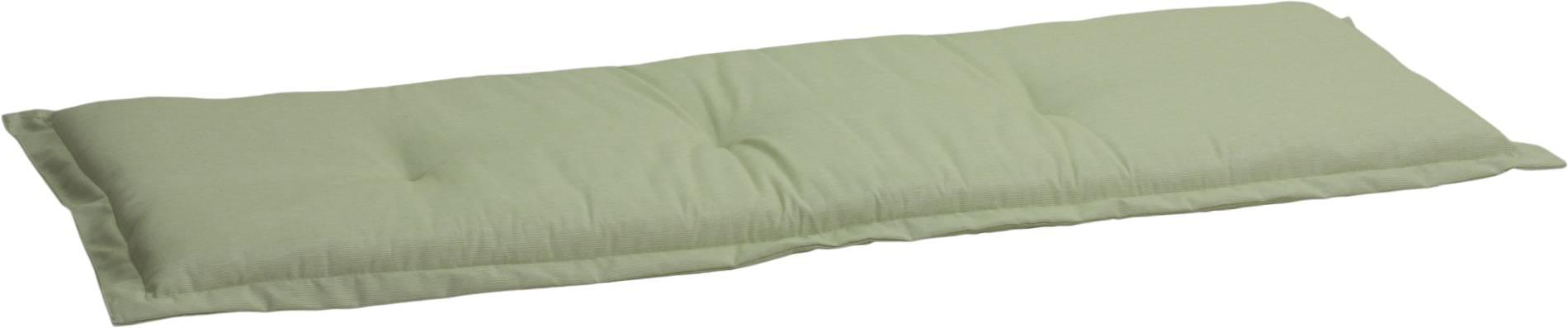 3-Sitzer Bankauflage in oliv grün Querstreifen Struktur ca. 145 x 45 cm ca.7 cm dick